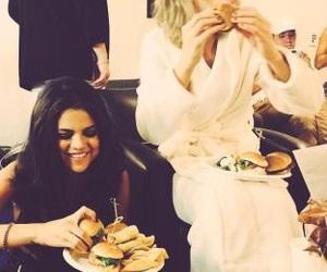 selena gomez, Taylor Swift, and food image