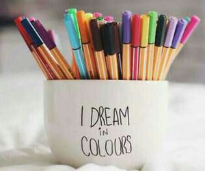 art, colors, and enjoy image