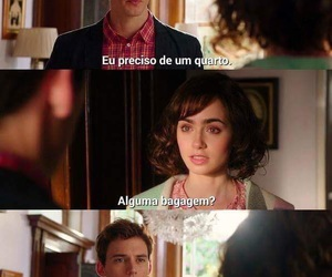 quote, lily collins, and love image