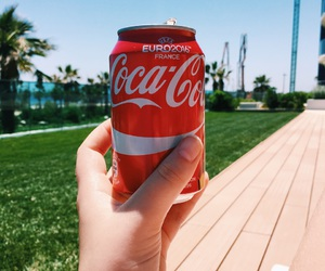 coca cola, spain, and loving life image