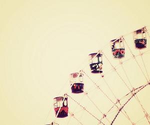 vintage and ferris wheel image