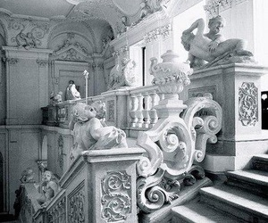 stairs, art, and architecture image