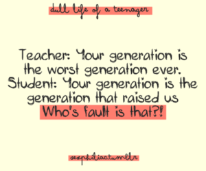 teacher, funny, and generation image