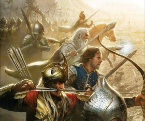 LOTR, gandalf, and aragorn image