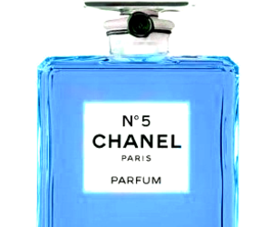 blue, parfum, and chanel paris image