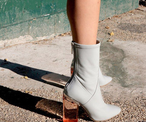 fashion, tumblr, and boots image