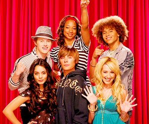 HSM and high school musical image