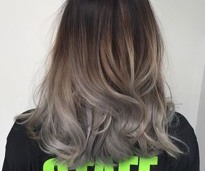 hair, beautiful, and ombre image