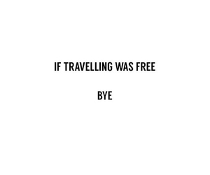 quotes, travel, and bye image