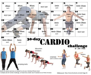 cardio, exercise, and workout image