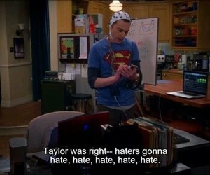 funny, Taylor Swift, and sheldon image