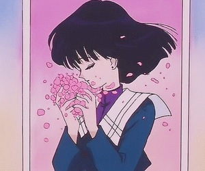 sailor moon and sailor saturn image