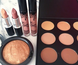 makeup, mac, and kylie jenner image