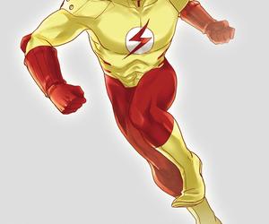 deviantart and kid flash image