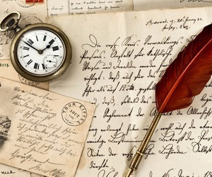 vintage, paris, and pen image