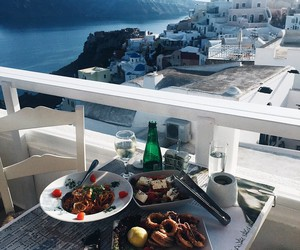 food, summer, and Greece image