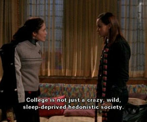 college, gilmore girls, and rory gilmore image