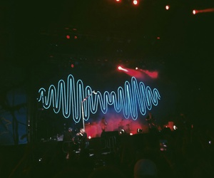 band, arcticmonkeys, and concert image