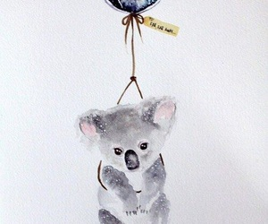 Koala, animal, and art image