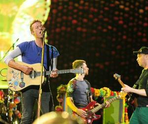 backstage, Chris Martin, and show image