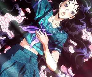anime, anime girl, and jojo's bizarre adventure image