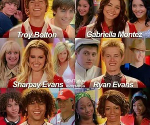 HSM, musical, and vanessa image