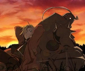 anime, edward elric, and alphonse elric image