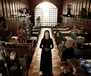 asylum, lily rabe, and briarcliff image