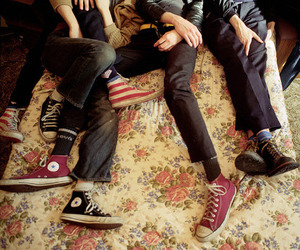 the strokes, converse, and all star image