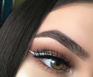 article, makeup, and eyes image