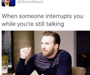 chris evans, funny, and haha image