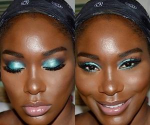 black girl make up image