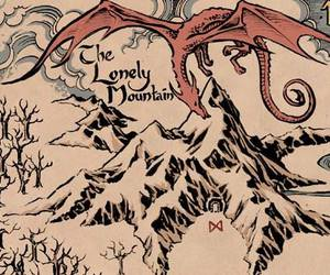 LOTR, map, and tolkien image