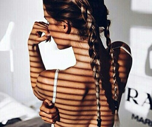 braids, hairstyle, and loveit image