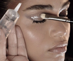 model, makeup, and beauty image