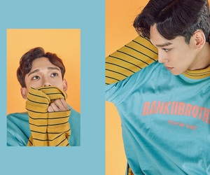 Chen, exo, and lucky one image