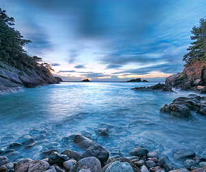clouds, sea, and nature image