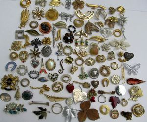 costume, ebay, and vintage & antique jewelry image