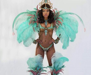 carnival, costume, and mas image