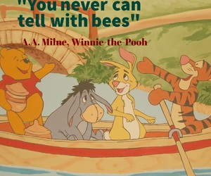 bees, quote, and winnie the pooh image