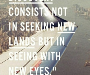 quotes, travel, and discovery image