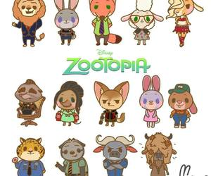 chibi and zootopia image
