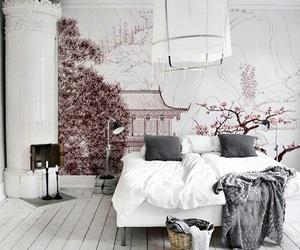 bedroom, decor, and fashion image
