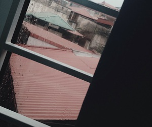 rain, window, and rainy image