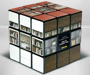 cube, ikea, and furniture image