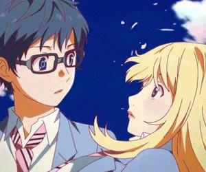 anime, shigatsu wa kimi no uso, and music image