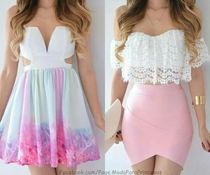 girl, outfit, and dress image
