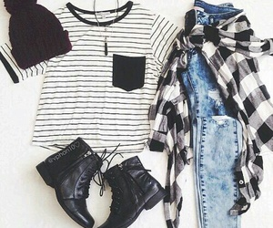 cool, girl, and outfit image