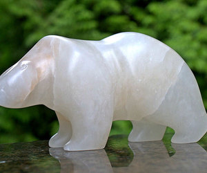 etsy, alabaster sculpture, and stone carving image