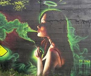 angel, street art, and graffiti image